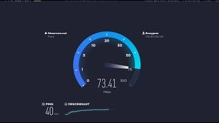 Speedtest / Nperf en 4GBox de Bouygues