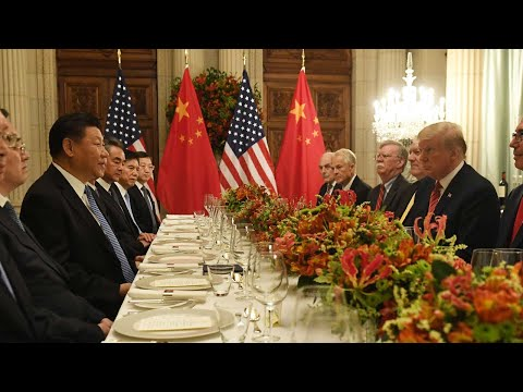 Xi-Trump talk trade at working dinner after G20