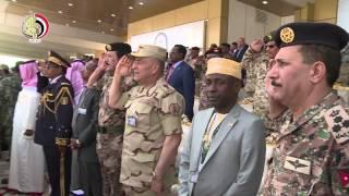 """بالفيديو.. رئيس الأركان يعود للقاهرة بعد مشاركته في مناورات """"رعد الشمال"""""""