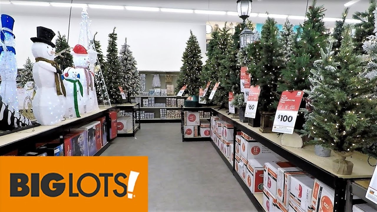 big lots christmas 2018 christmas trees decorations ornaments home decor shopping