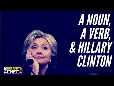 A Noun, A Verb & Hillary Clinton