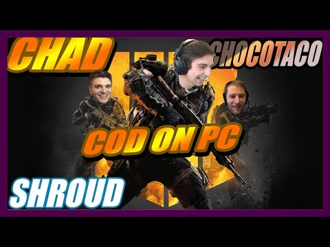 CALL OF DUTY: BLACK OPS 4 SQUADS FT. CHOCO, CHAD | SEPTEMBER 14 , 2018