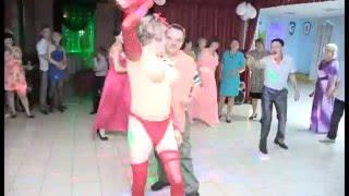 Стриптиз на свадьбе !!!