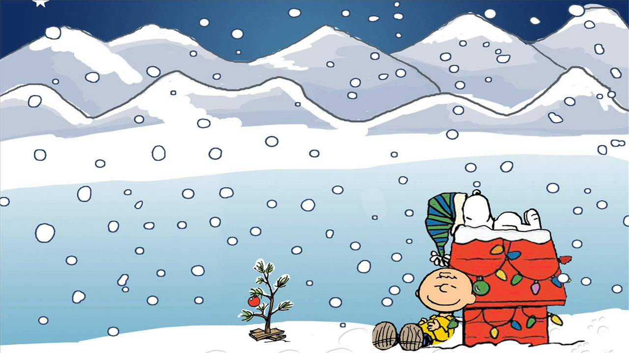 Free Animated Snow Falling Wallpaper A Charlie Brown Christmas Favorite Time Of Year Hip Hop