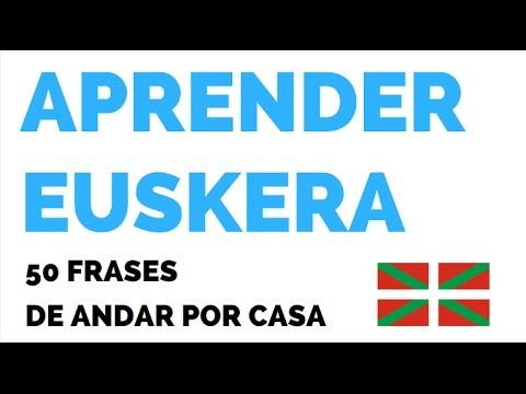 Aprender Euskera 50 Frases De Andar Por Casa