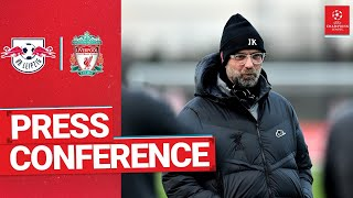 Jürgen Klopp's Champions League press conference | RB Leipzig