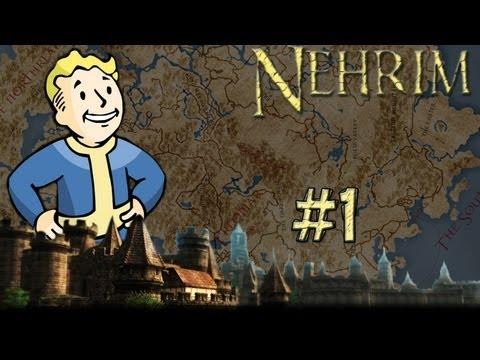 Nehrim: At Fate's Edge Walkthrough - Part 1 - A Familiar Beginning (Oblivion Overhaul)