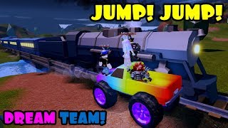 THAT DREAM TEAM LIFE! (My Perspective) Roblox JAILBREAK