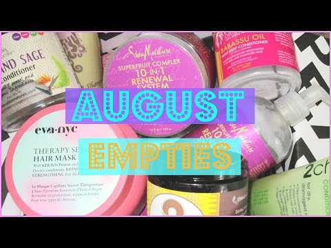 Empties Aug 2016   Ashkins Curls