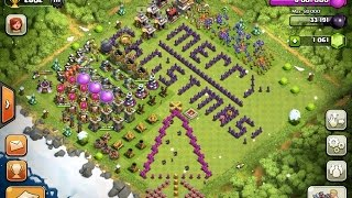 Clash of Clans- Christmas 2014 Update (Review)