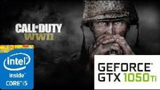 Call of Duty WW2: GTX 1050 TI 4GB i5 4460