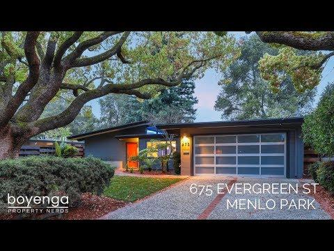 Eichler Living   675 Evergreen St, Menlo Park 94025   Boyenga Team #PropertyNerds