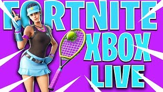 🔴NEW VOLLEY GIRL SKIN! CONSOLE FORTNITE XBOX ONE LIVE STREAM!