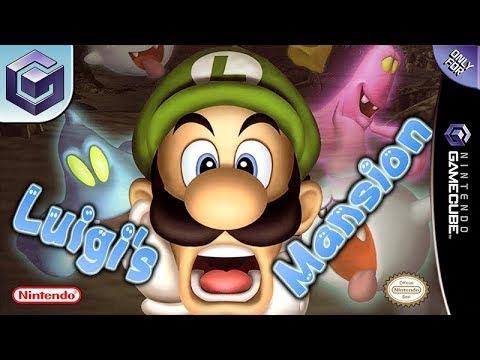 Longplay of Luigi's Mansion