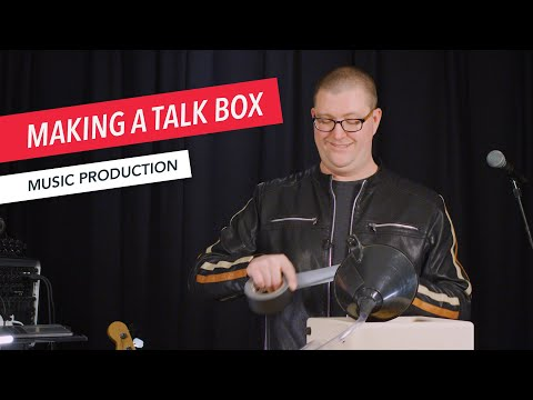 How to Create a Talk Box Effect for Electric Guitar | Talkbox | Music Production