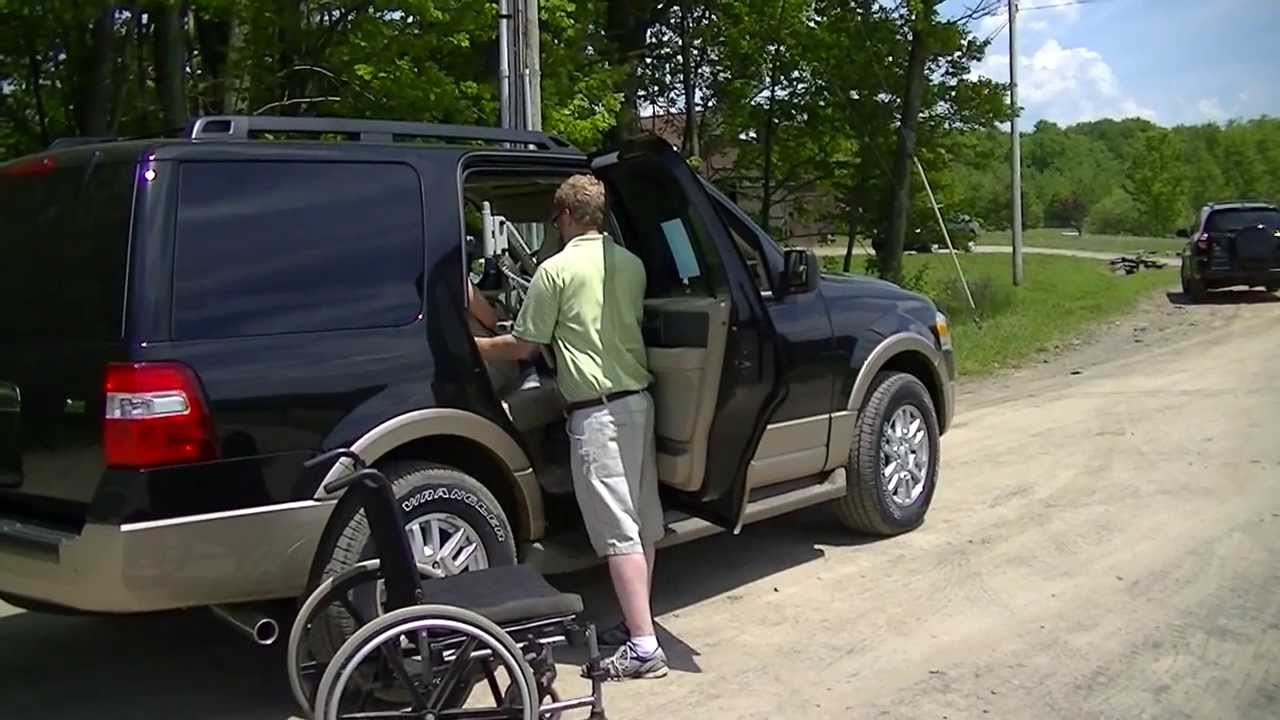 how to get handicap parking in front of house