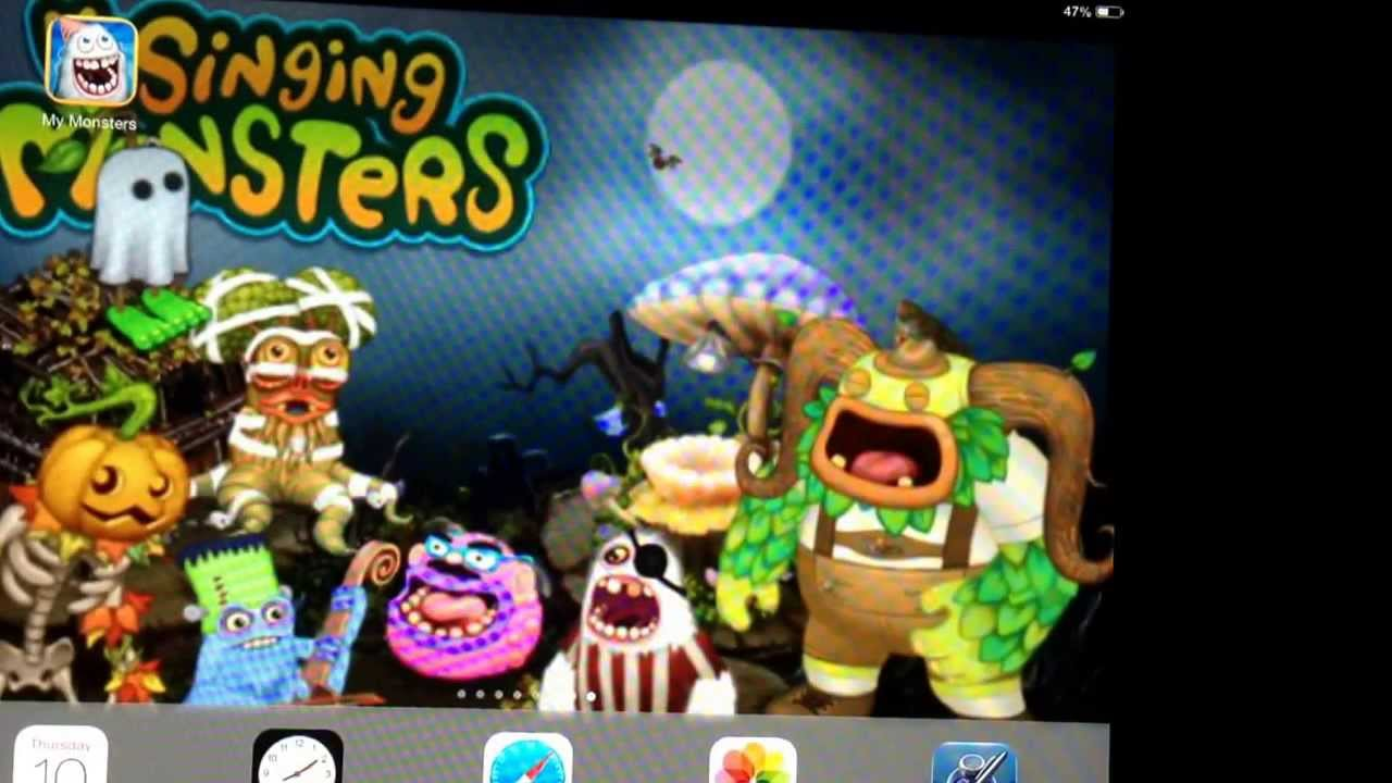 How To Make Your Own My Singing Monsters Wallpaper On IPad