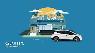 homepage tile video photo for Living Electric Real Owner Stories: James T. on Charging | Chevrolet