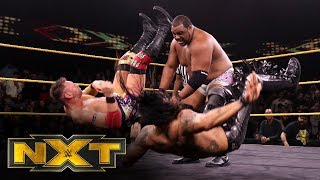 Lee vs. Dijakovic vs. Grimes vs. Priest – No. 1 Contender's Match: WWE NXT, Jan. 8, 2020