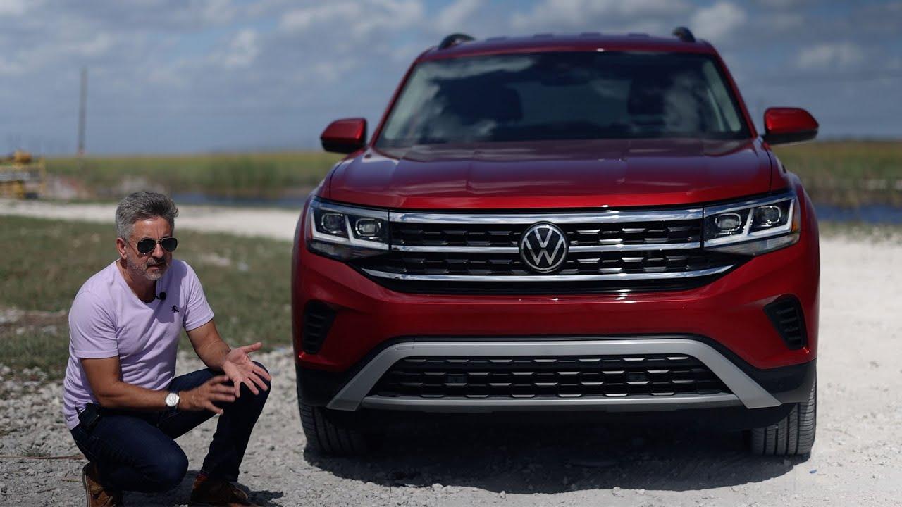 La Guerra de la tercera fila de asientos • 2021 VW Atlas 2.0T SE 4Motion