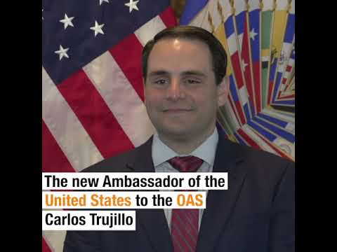 2018 APR 5 New Ambassador of United States to the OAS Presents Credentials