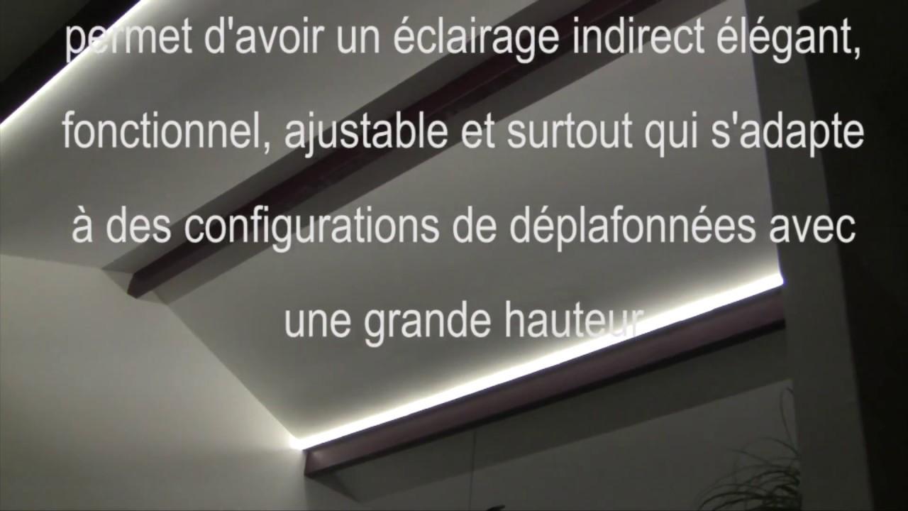 Ruban Led Pour Eclairage Principal exemple de réalisation d'un éclairage principal indirect par bandeau led