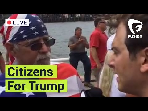 Bikers For Trump & Other Supporters Fired Up At Citizens For Trump Rally
