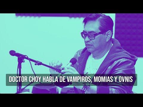 EL DOCTOR CHOY nos habla de vampiros, momias y ovnis | Moloko Talks