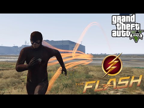 GTA V Modları - The Flash Modu - EN İYİ FLASH MODU