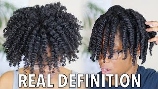 Get PERFECT DEFINED Twist Out Every Time on 4c 4b Hair