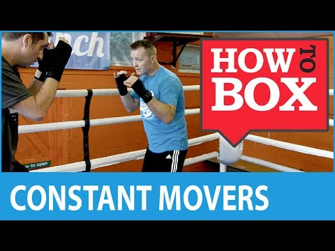 Dealing with Constant Movers in Boxing - How to Box (Quick Videos)