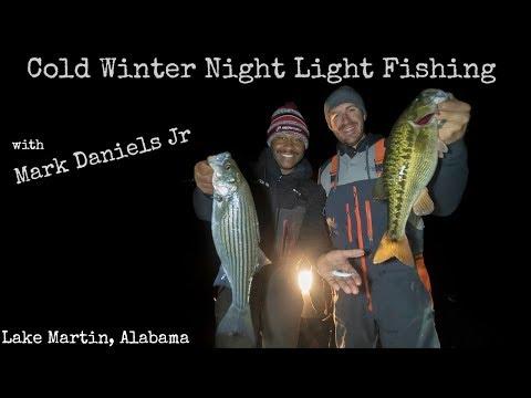 Unbelievable Winter Nighttime Fishing in Alabama