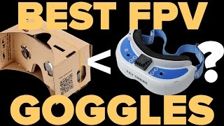 THE 6 BEST FPV GOGGLES  for Drone Racing or Cinematography