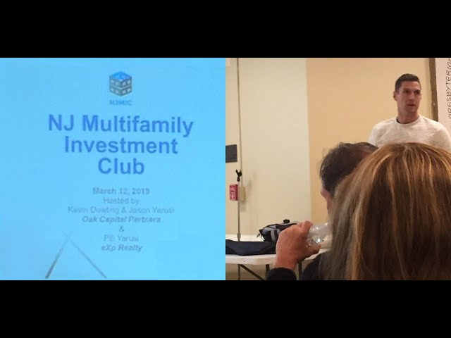"""Raising Private Money"" at NJ Multifamily Investment Club run by Jason & Pili Yarusi"