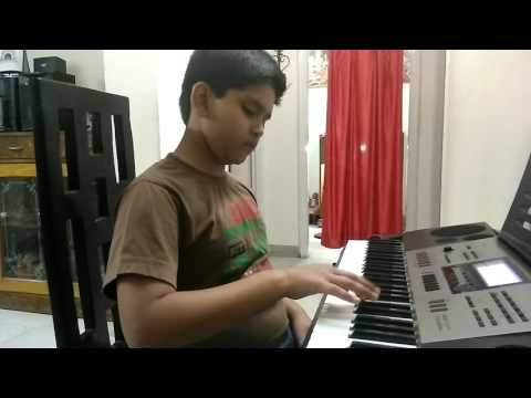 Mere Rashke Qamar | Nusrat Fateh Ali Khan | Piano Cover | Gunjit |