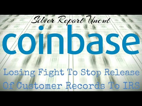 Coinbase Losing! Must Turn Over Customers Records To IRS For Massive Bitcoin Fishing Expedition
