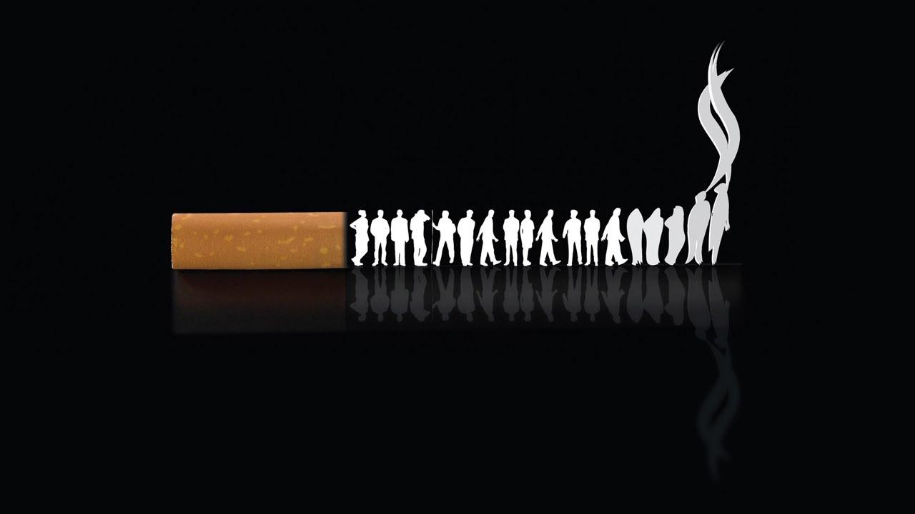 Надписи по картинками против курения