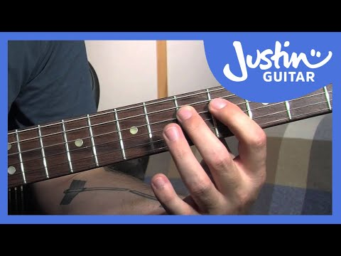 How To Play & Create Your Own Blues Riffs - Blues Rhythm Guitar Lessons [BL-210]