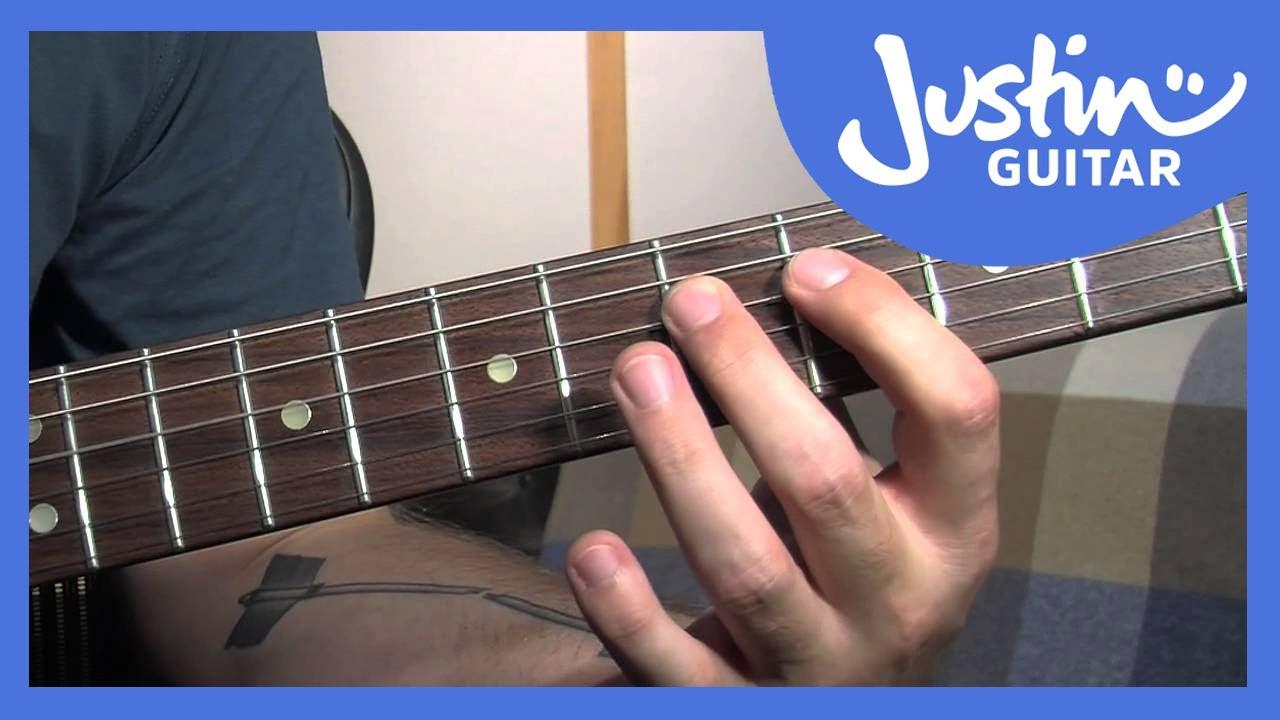 Blues Gospel Slide Chords Justinguitar
