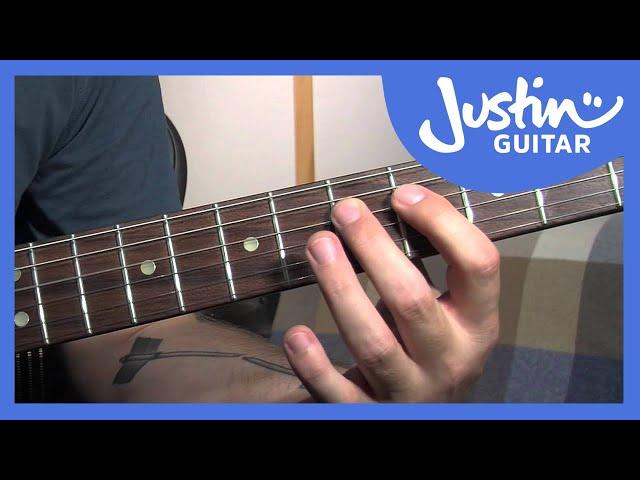 Blues Rhythm 1   JustinGuitar com