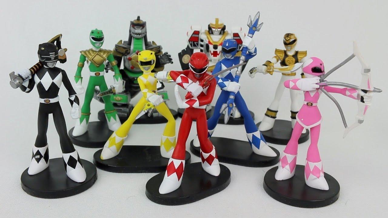 Power Rangers Funko Hero World Vinyl Collectibles Mighty