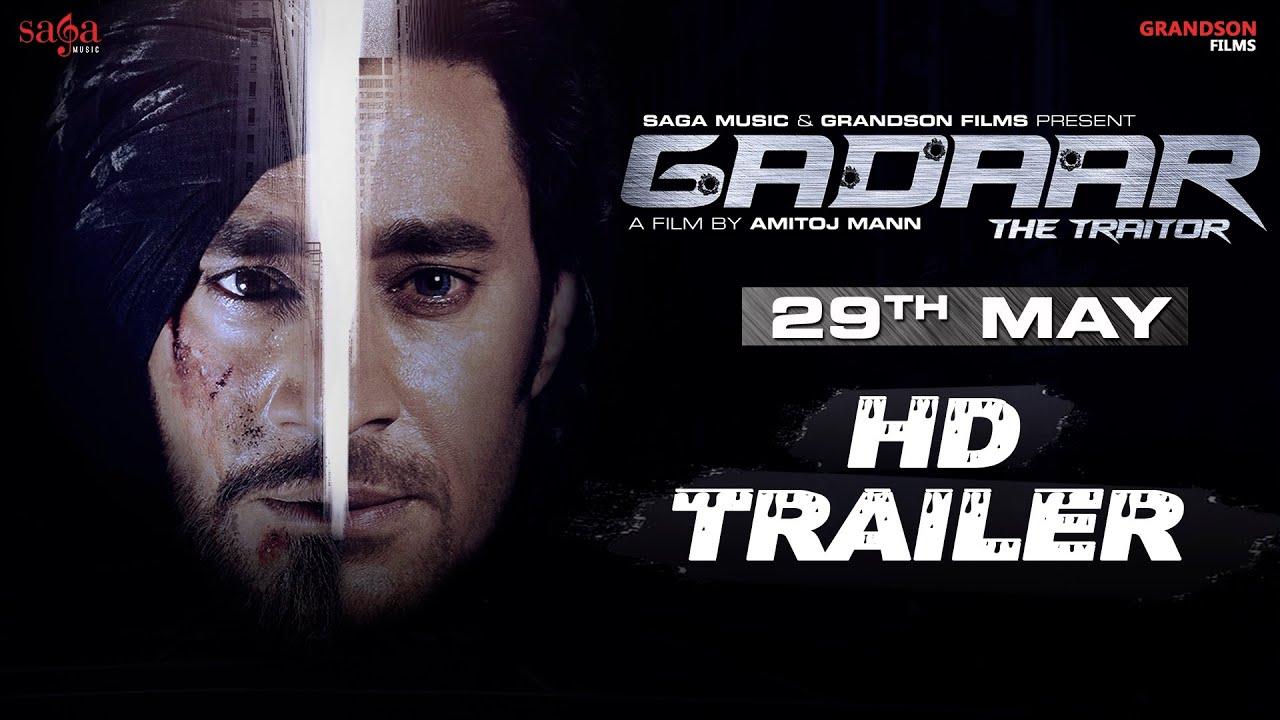 Download Gadaar - The Traitor Official Trailer | Amitoj Mann | Punjabi Movie Full Movie Out Sagahits
