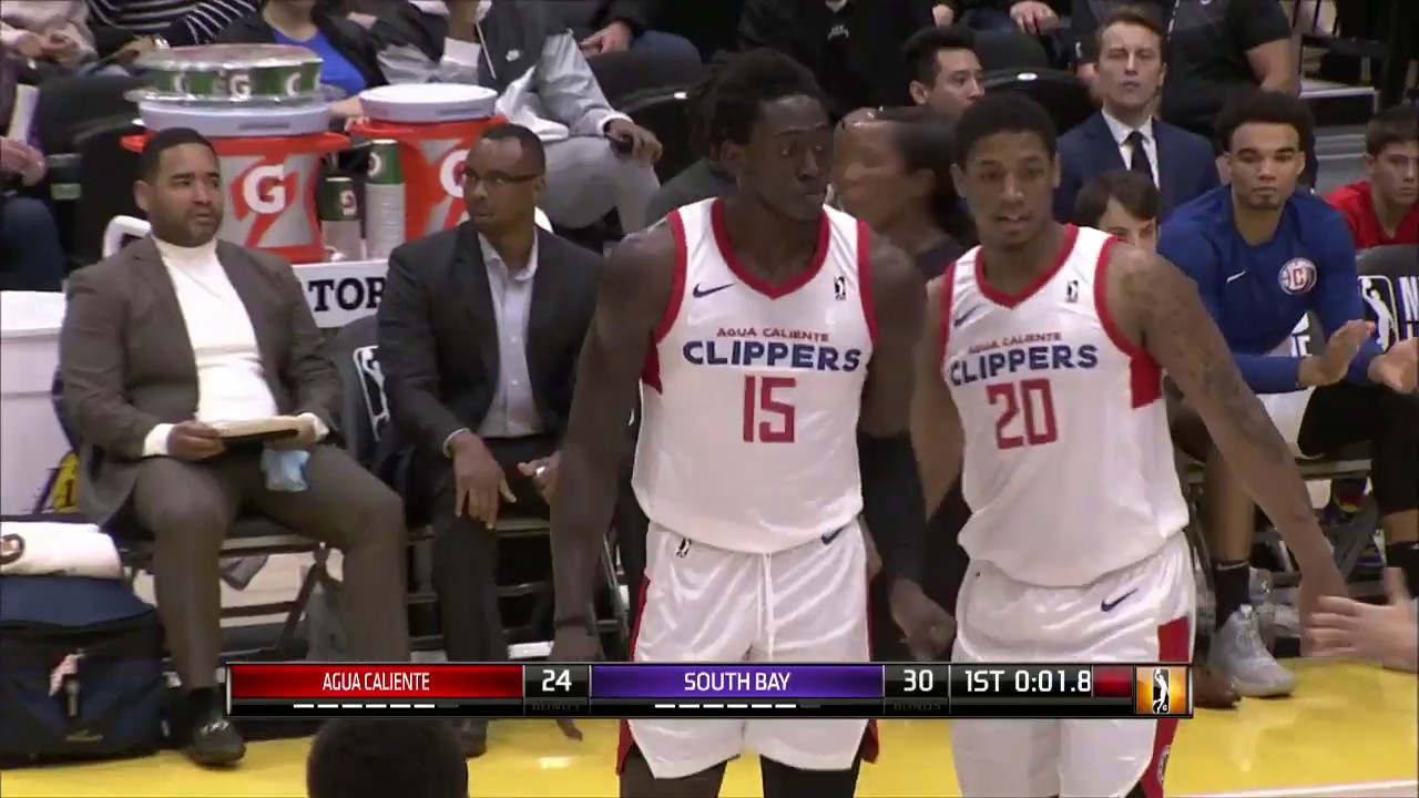 6edfb362c2c6 Agua Caliente Clippers Highlights vs. South Bay Lakers 03-07-19 ...