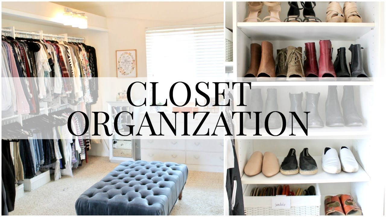 Master Closet Organization | Kendra Atkins