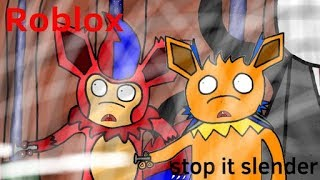Proxy is scary | Roblox: stop it slender with Angrybirds770