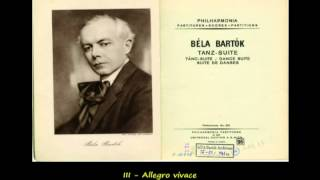 Béla Bartók - Dance Suite (piano version - 1925)