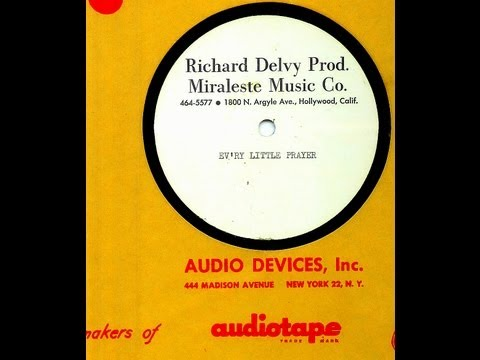 Ashes - EV'RY LITTLE PRAYER  (Unreleased acetate)  (Gold Star Studio)  (1965)