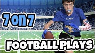 Misdirection 7 on 7 FĮag Football Plays