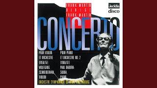 Concerto pour violon: II. Andante molto moderato