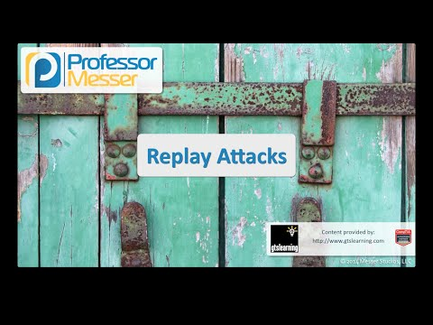 Replay Attacks - CompTIA Security+ SY0-401: 3.2